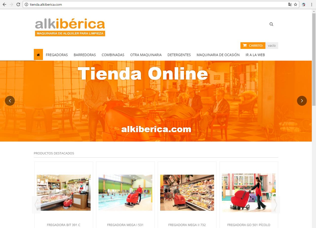 Alkibérica estrena Tienda Online